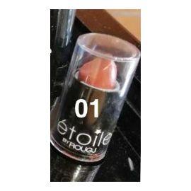 Rougj Etoile Shimmer Lipstick 01 Merengue