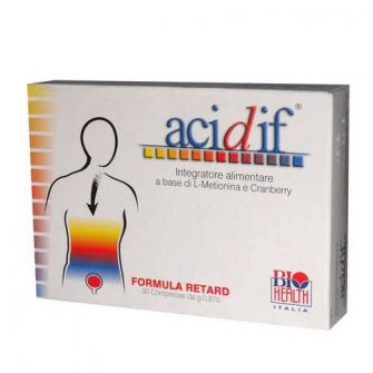 Acidif compresse