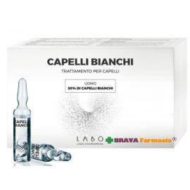 Labo Capelli Bianchi Trattamento Uomo Capelli Bianchi 30% - 60 fiale