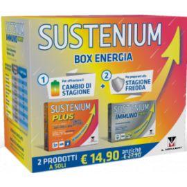 SUSTENIUM BOX ENERGIA PLUS + IMMUNO ENERGY ADULTO + 1 SUSTENIUM LIMITED EDITION 2018