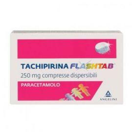 Tachipirina flashtab 250 mg 12 compresse orodispersibili - medicinale senza obbligo di ricetta medica