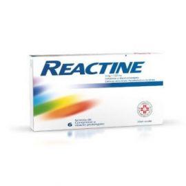 REACTINE 5 MG + 120 MG 7 COMPRESSE - farmaco senza obbligo di ricetta