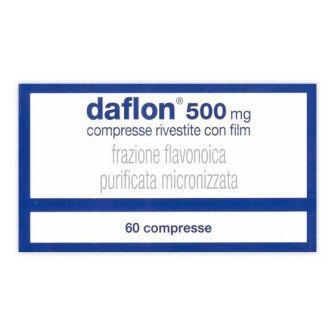 DAFLON 500 MG COMPRESSE RIVESTITE - farmaco senza obbligo di ricetta