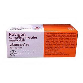ROVIGON COMPRESSE RIVESTITE MASTICABILI - farmaco senza obbligo di ricetta