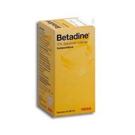 BETADINE CUTANEO - farmaco senza obbligo di ricetta