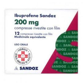 IBUPROFENE SANDOZ 200 MG COMPRESSE RIVESTITE - farmaco senza obbligo di ricetta