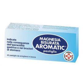 MAGNESIA BISURATA AROMATIC 40 COMPRESSE - farmaco senza ricetta