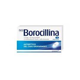 Neo Borocillina 16 pastiglie gusto menta - farmaco senza ricetta