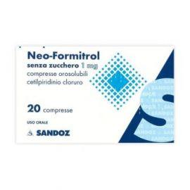 NEO FORMITROL compresse - farmaco senza ricetta