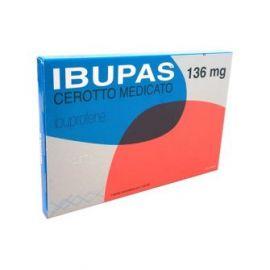 IBUPAS 136 MG CEROTTO MEDICATO - farmaco senza ricetta