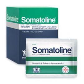 SOMATOLINE EMULSIONE 15 Buste - medicinale senza obbligo di ricetta