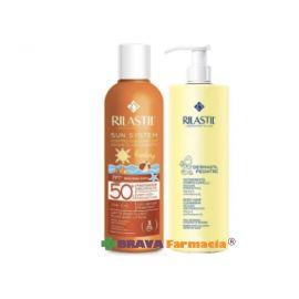 Rilastil Sun System Latte Baby Fluido SPF 50 + Dermastil Detergente