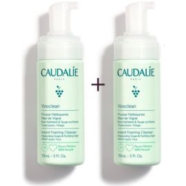 Caudalie Vinoclean Duo Mousse Detergente 150 ml+150 ml