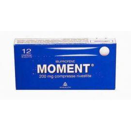moment 200 12 compresse rivestite - medicinale senza obbligo di ricetta medica