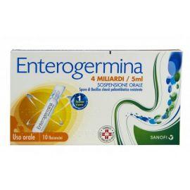 Enterogermina 10 fiale 4 Miliardi - farmaco senza obbligo di ricetta