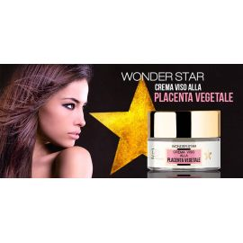 Wonder Star Crema Viso alla placenta vegetale