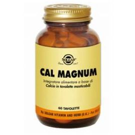 Cal Magnum Solgar compresse masticabili