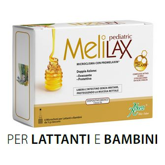 Melilax Pediatric Microclisma Aboca