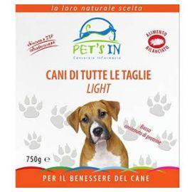 Pet's In cani di tutte le taglie light (750 g)
