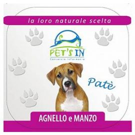 Pet's In patè con agnello e manzo (300 g)