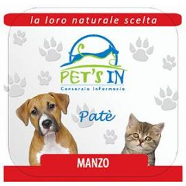 Pet's In mousse con manzo (100 g)