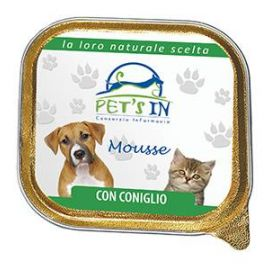 Pet's In mousse con coniglio 100 gr