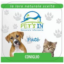 Pet's In mousse con coniglio 10 gr