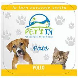 Pet's In mousse con pollo per cani e gatti