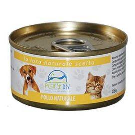 Pet's In pollo naturale per cani e gatti