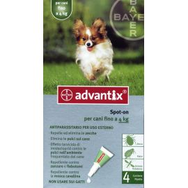 Advantix Spot on fino 4 kg