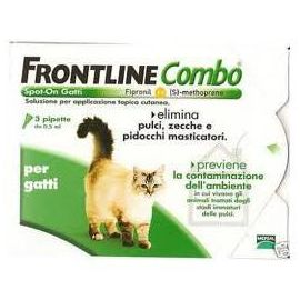 Frontline Combo Spot on Gatti *3 Pipette