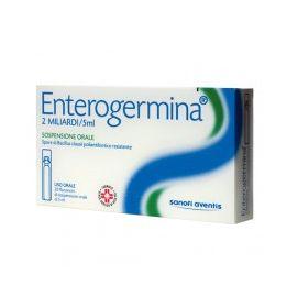 Enterogermina 10 Flaconcini 2 Miliardi - farmaco senza obbligo di ricetta