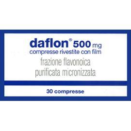 Daflon 500 mg 30 compresse farmaco senza obbligo di ricetta