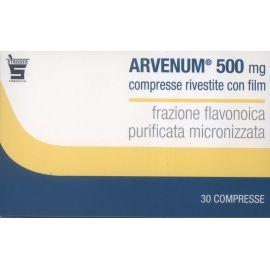 Arvenum 500 mg 60 compresse