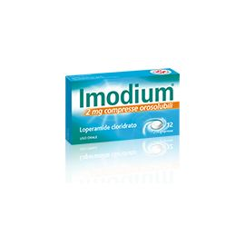 IMODIUM compresse orosolubili 12 compresse 2 mg- farmaco senza ricetta