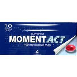 Momentact capsule molli - medicinale senza obbligo di ricetta medica