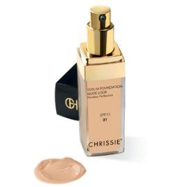 Chrissie Siero Fondotinta 01 Light Sand