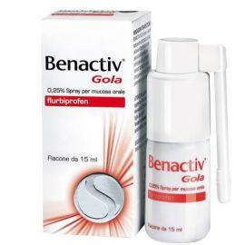 Benactiv Gola Spray - medicinale senza obbligo di ricetta medica