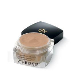 Chrissie Creamy Foundation 01 Light Sand