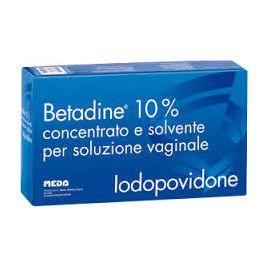Betadine soluzione vaginale 5 flaconi farmaco senza obbligo di ricetta