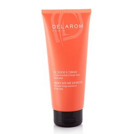 Delarom Gel Douche a l'Orange