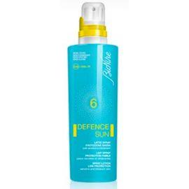 Bionike Defence sun Latte Spray Protezione spf 6
