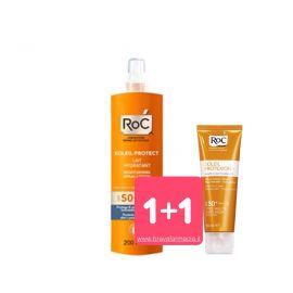 Roc Solari Latte Hydratante Spf 50 Spray + Omaggio Crema 50+