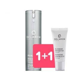 1+1 Delarom Aqualixir Serum + Omaggio Gel Idratante Defaticante Contorno Occhi