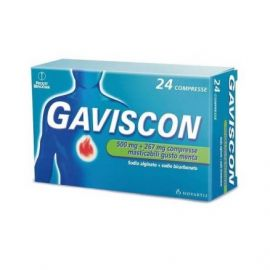 Gaviscon compresse menta - medicinale senza ricetta