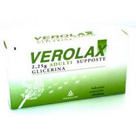 VEROLAX*AD 18SUPP 2,25G - medicinale senza obbligo di ricetta medica
