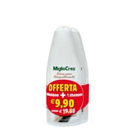 1+1 Migliocres Shampoo Pacco Risparmio