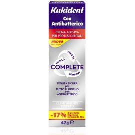 Kukident Con Antibatterico crema adesiva gr 47