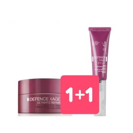 1+1 Defence Xage Crema Filler Notte + Defence Xage Eye Lift