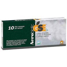 GSE Aerobiotic 10 fiale monouso 5ml per aerosol